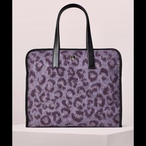 NWT! Kate Spade ♠️ Morley Leopard Large Tote